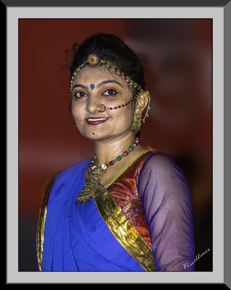young lady by guruhindustani1