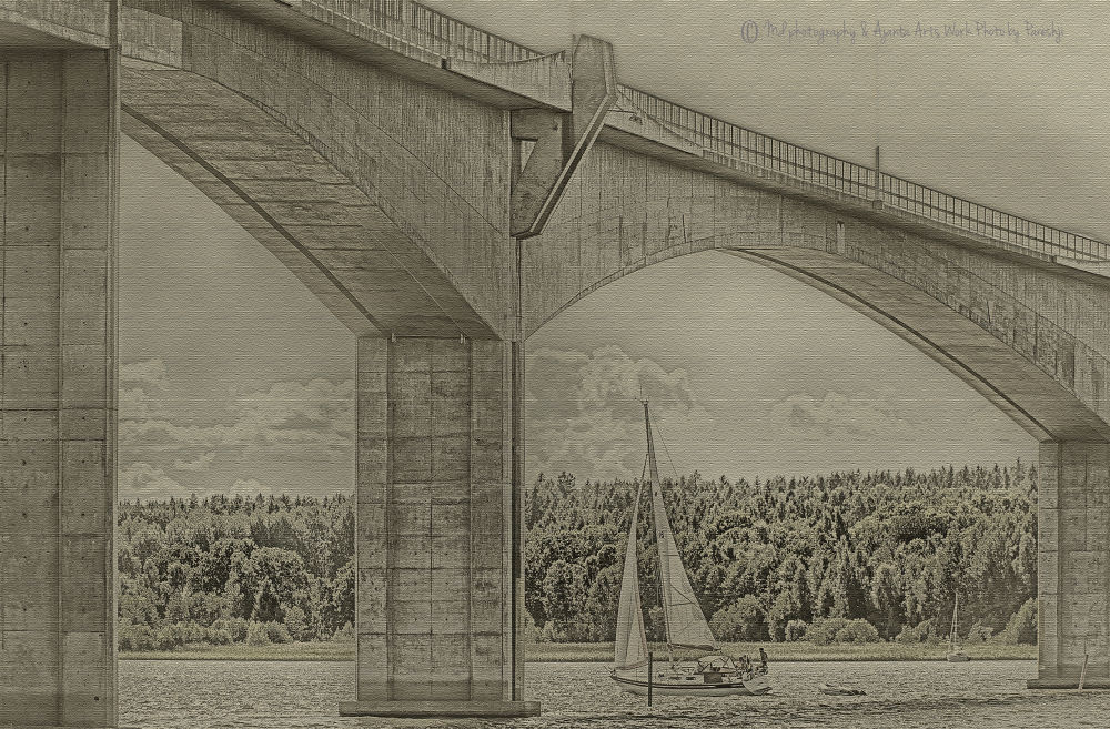 Bridge canvas by guruhindustani1