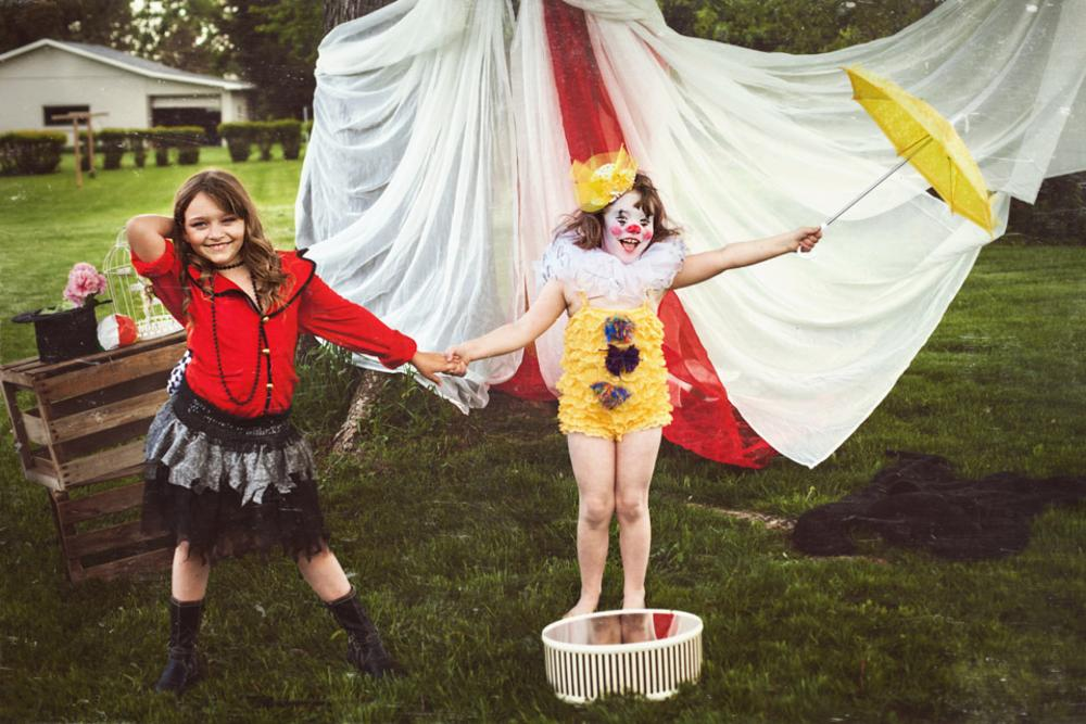 Back Yard Circus by Suzanne Fielding Paul