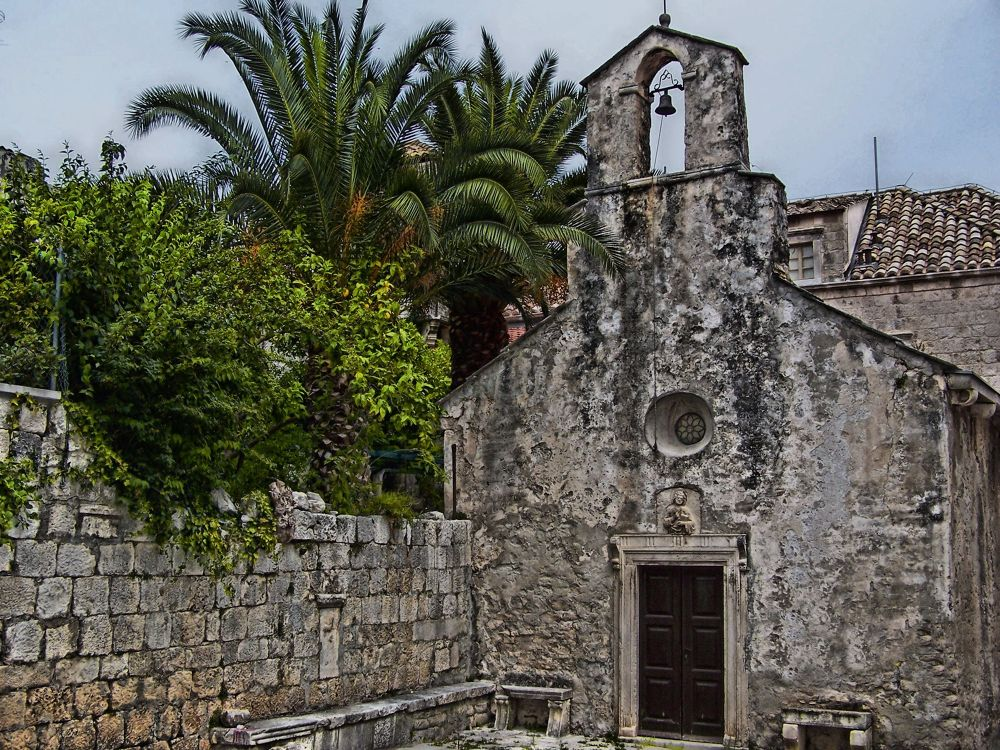 EGLISE A KORCULA... by Christian Doaré