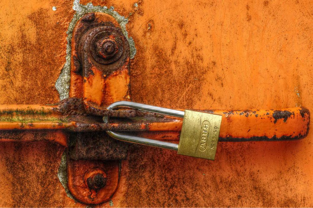 Locked by Rob van der Griend