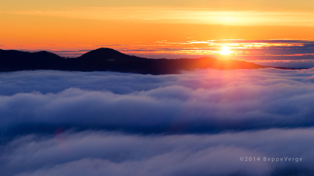 Over the clouds by BeppeVerge