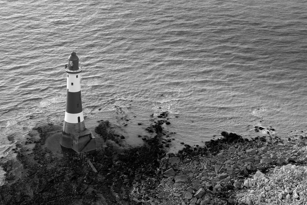 Lighthouse, Beachy Head, East Sussex, England by Simon Harding