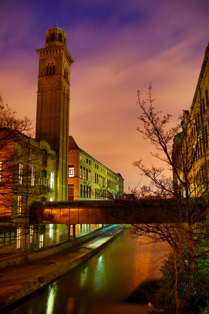 salts mill saltaire by Mark Pearson