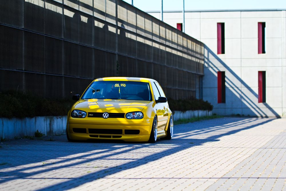 Yellow MK IV by gauna