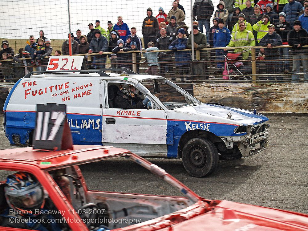 Buxton Raceway 2007 03 11 Bangers and Bombers 04 by Nick Hill