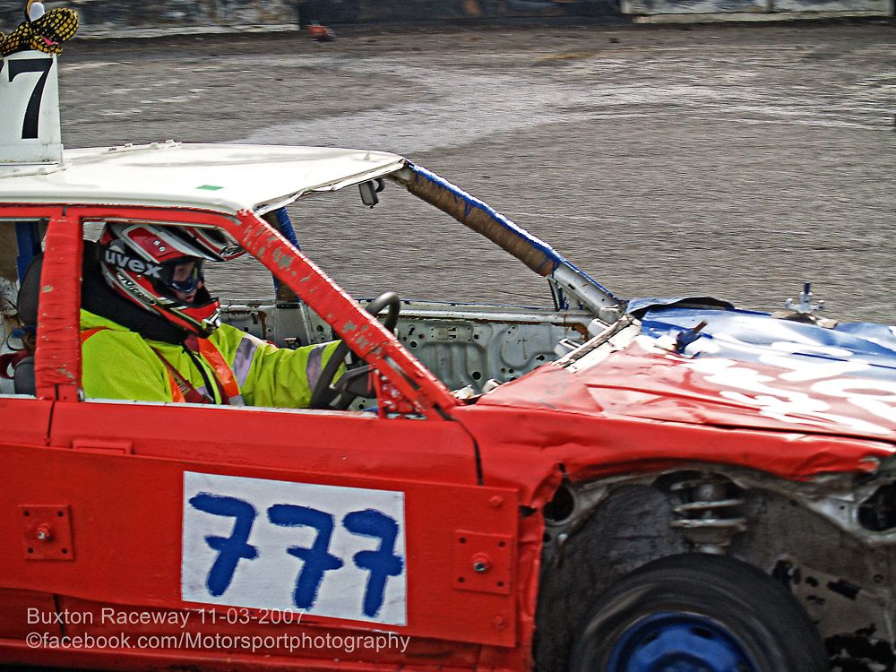 Buxton Raceway 2007 03 11 Bangers and Bombers 08 by Nick Hill