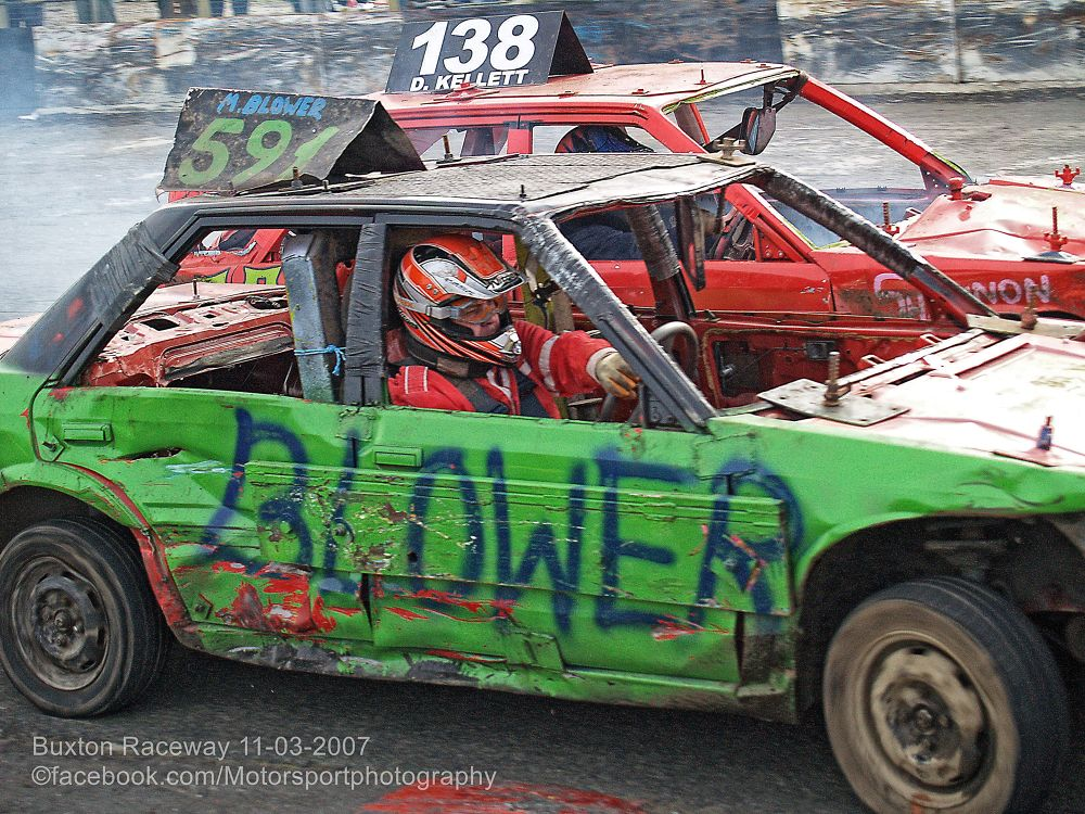Buxton Raceway 2007 03 11 Bangers and Bombers 05 by Nick Hill
