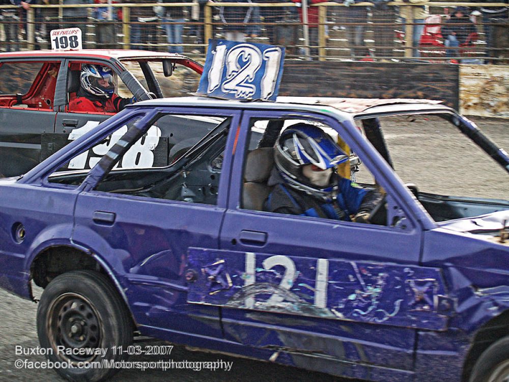 Buxton Raceway 2007 03 11 Bangers and Bombers 12 by Nick Hill
