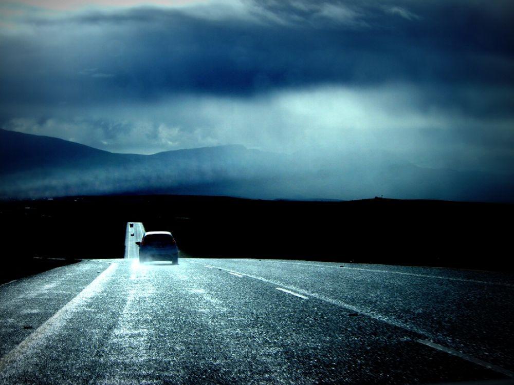 Landscapes021-winter road by Jfunk