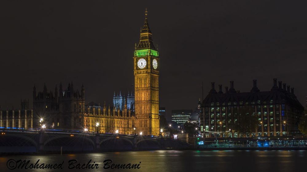 HOUSES OF PARLIAMENT LONDON by MohamedBachirBennani