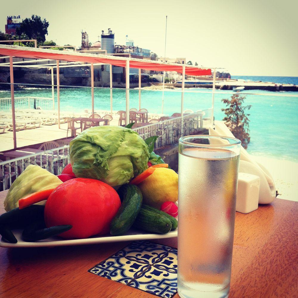 Photo in Random #lebanon #water #sea #bokeh #vegetables