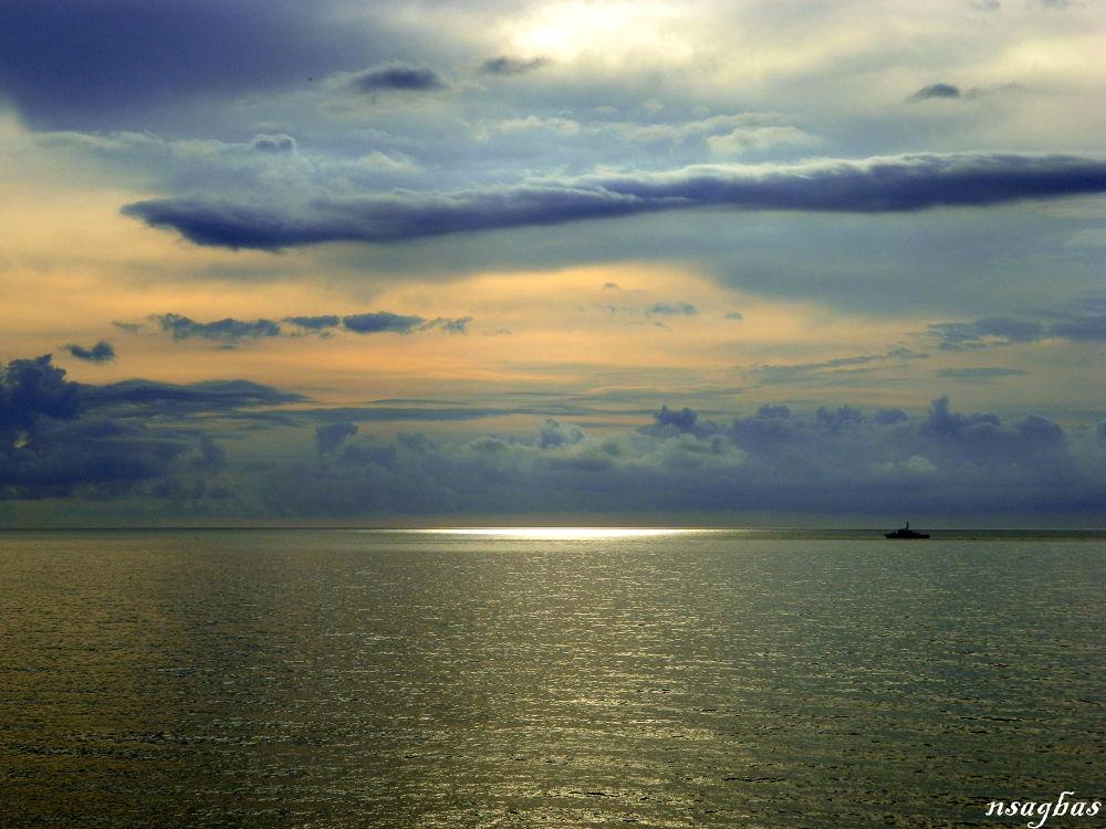 Sunset Black sea Rize Turkey by Karadag