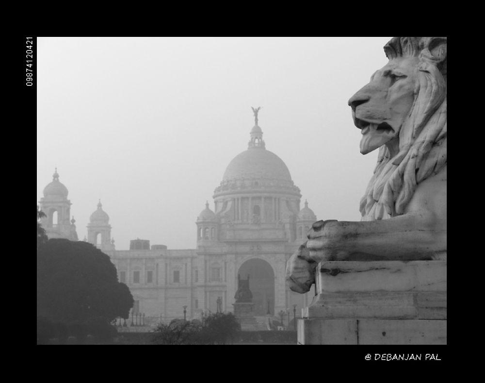 The Victoria Memorial by Debanjan Pal