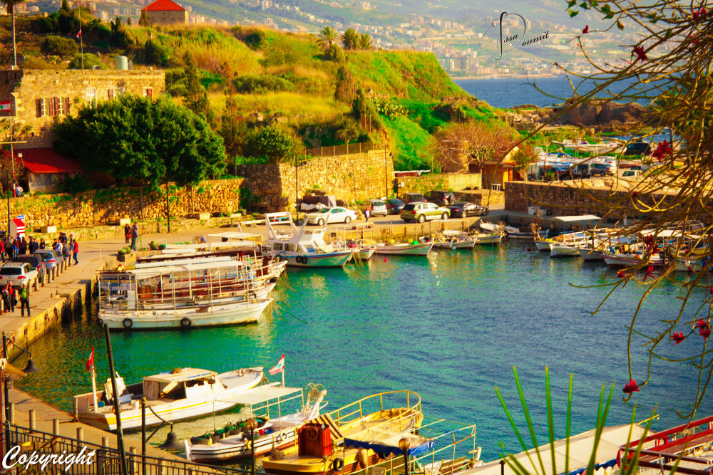 byblos lebanon by Issa Doumit