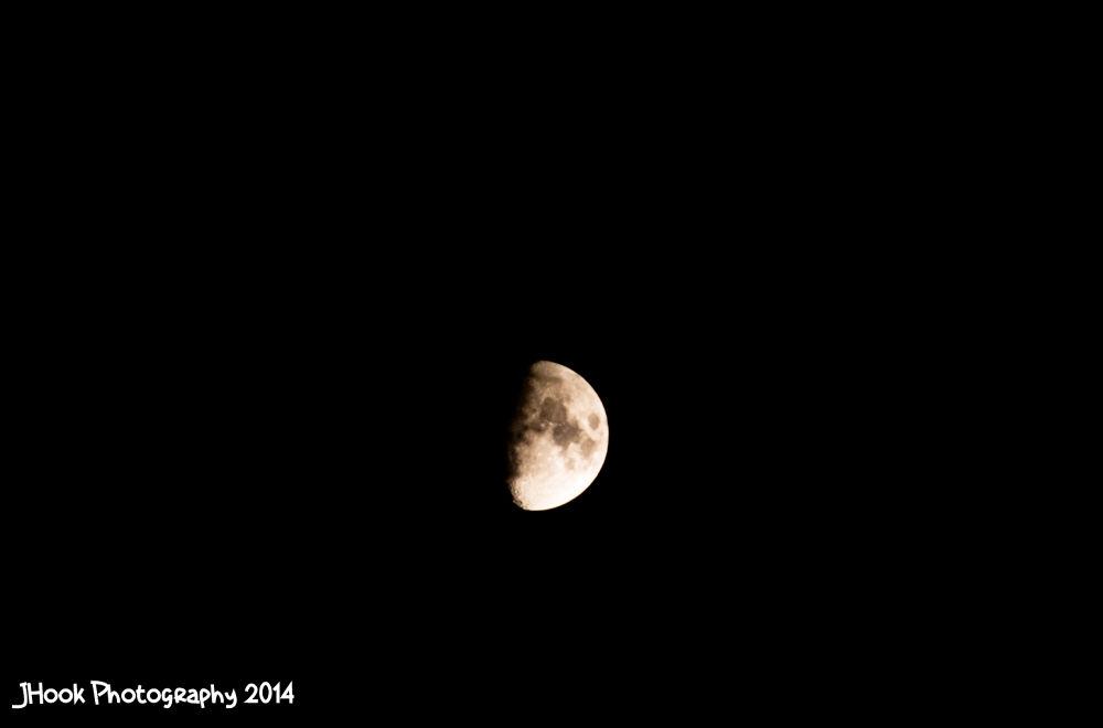 The Moon (March 10th, 2014) by Jesse Koukku