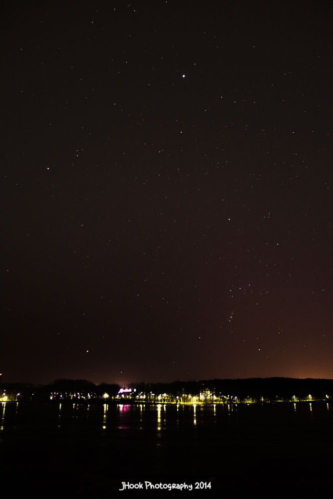 Night sky from Tohloppi, Tampere, Finland (March 26th, 2014) [ 2 of 3 ] by Jesse Koukku