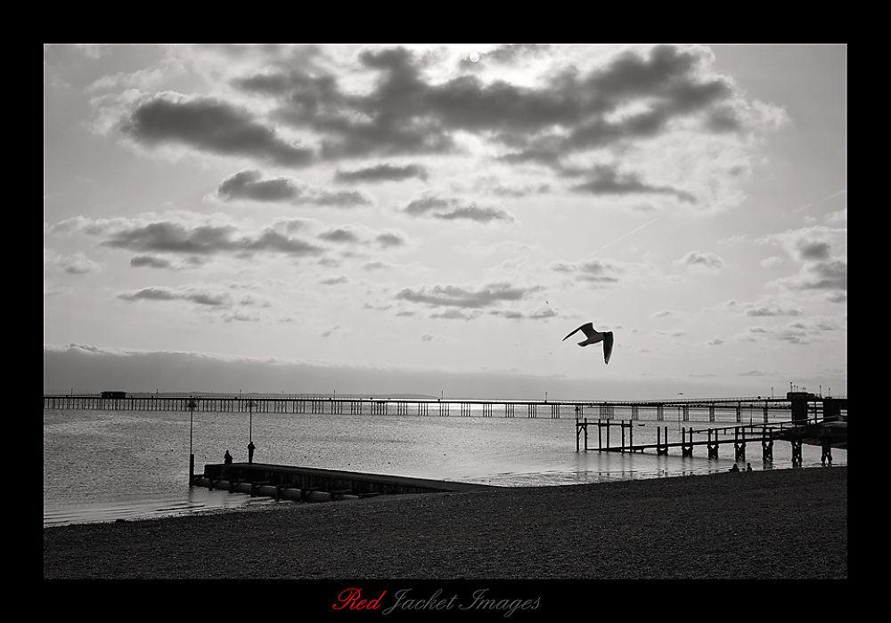 seaside  by Kev Bates