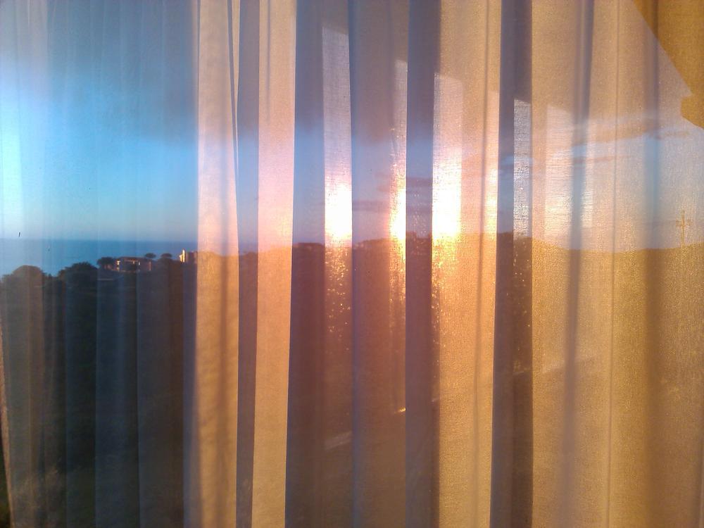 reflex through the curtains by Renato Nacci