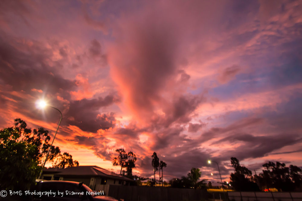 Skies left behind from Cyclone Ita by BMS Photography