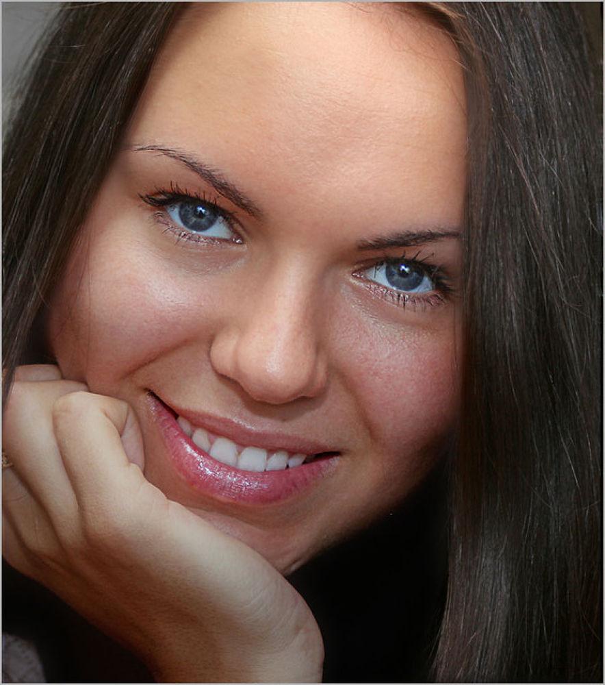 Monika smile by Zenonas Meškauskas