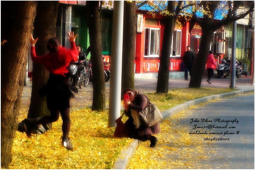 autumn foliage 2013 in Chengdu-014 by JohnDkar