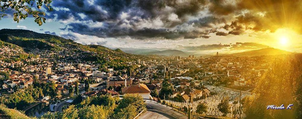 Sarajevo by Mirela Kecanovic