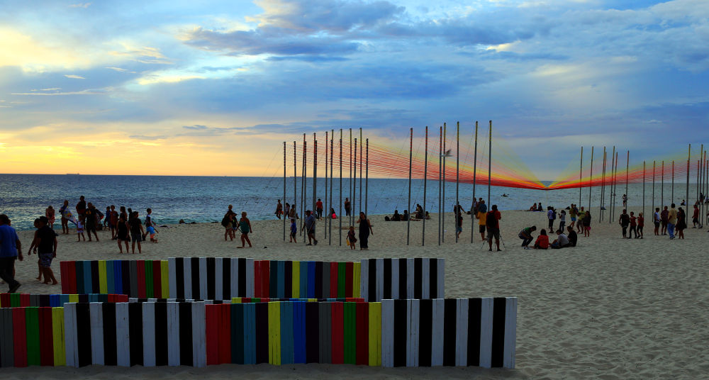 Sculpture by the Sea - 2 by Amitav Photography