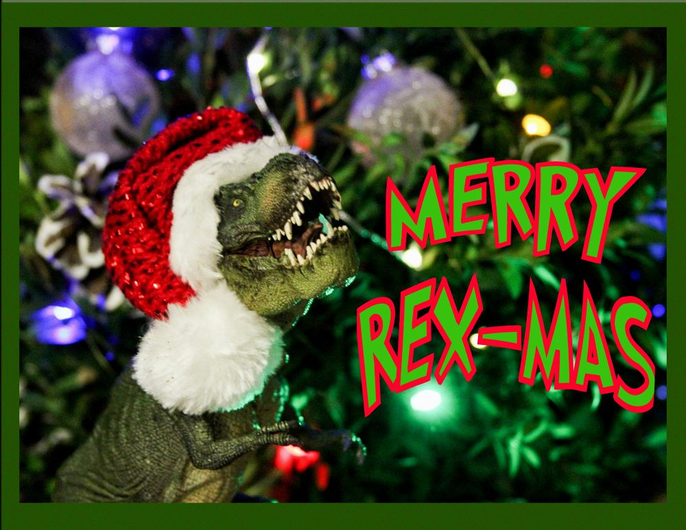 Merry Rex-Mas by KBPic