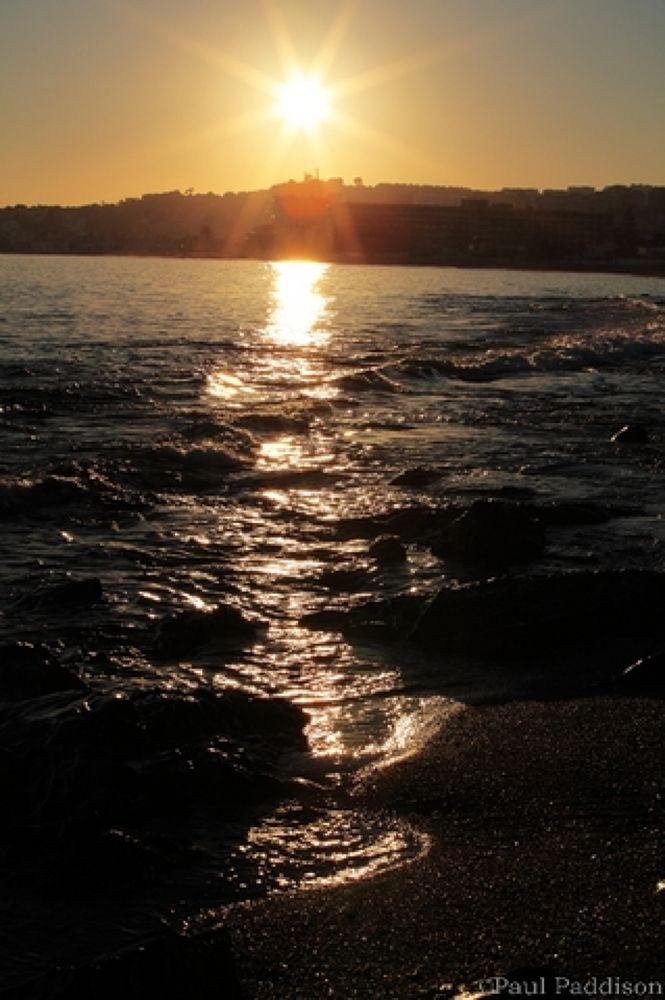 la cala sunset by Paul Paddison