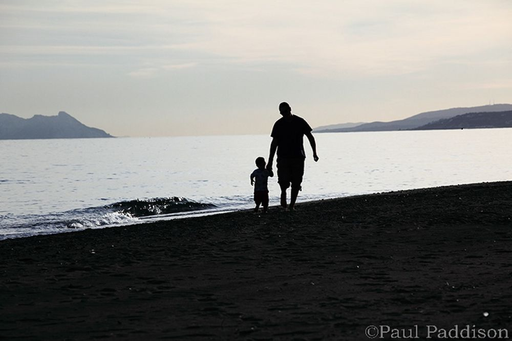 Father and son by Paul Paddison