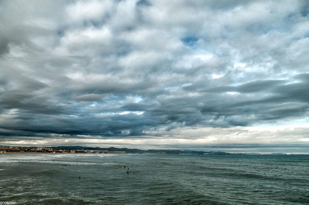 Valencia sea landscape by G.Cosmai