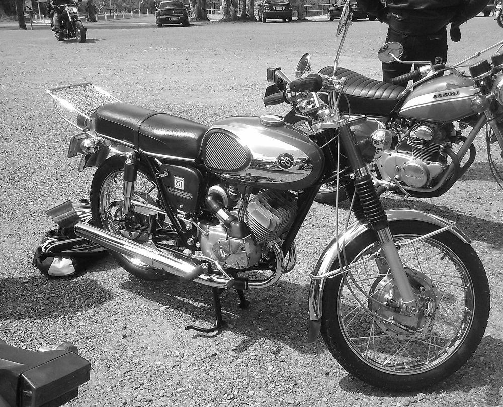 Bridgestone  175cc  circa 1971 by Donald Tadman