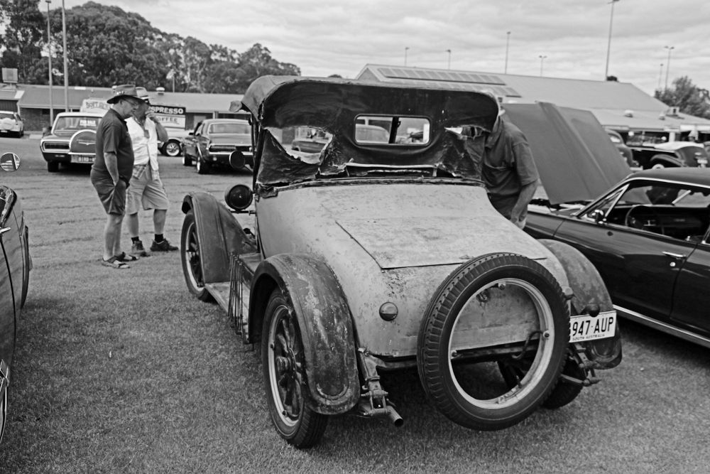 US made Willys Whippet from the 1920's Golden Grove American Car show 2014 by Donald Tadman