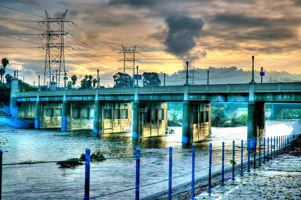 Los Angeles River by Rob