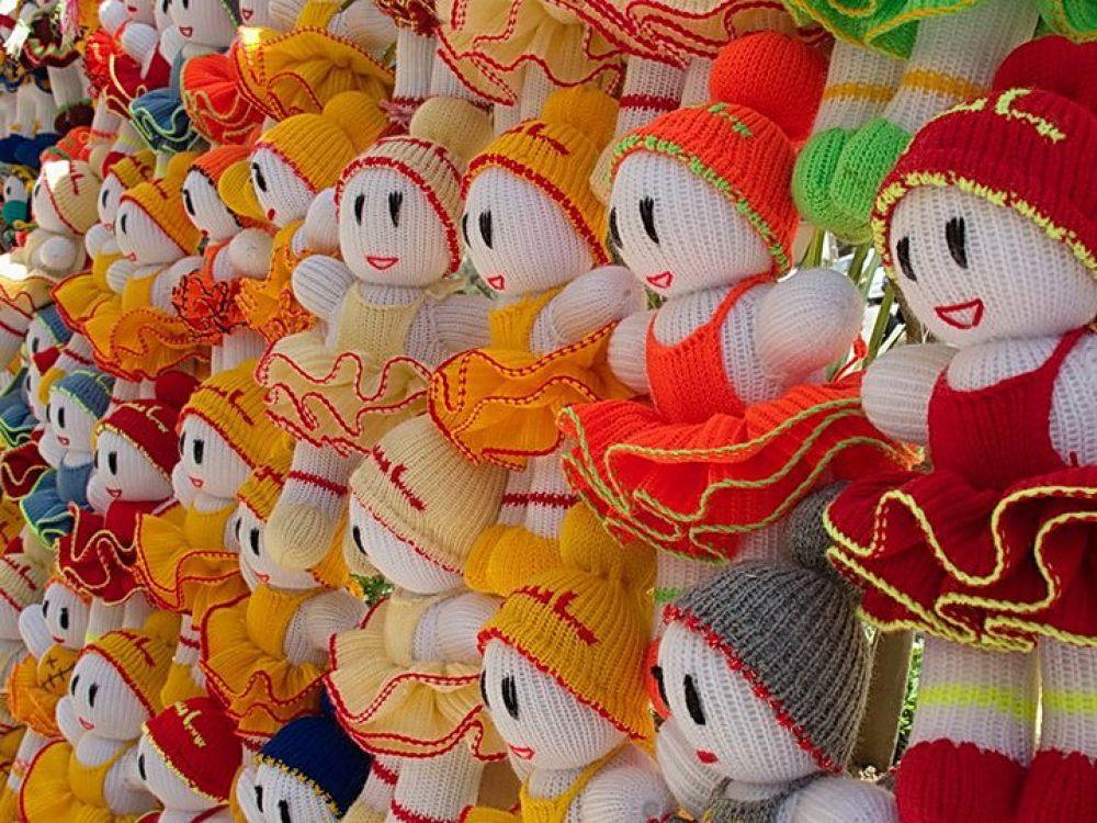 Laughing dolls by saeed samani nia