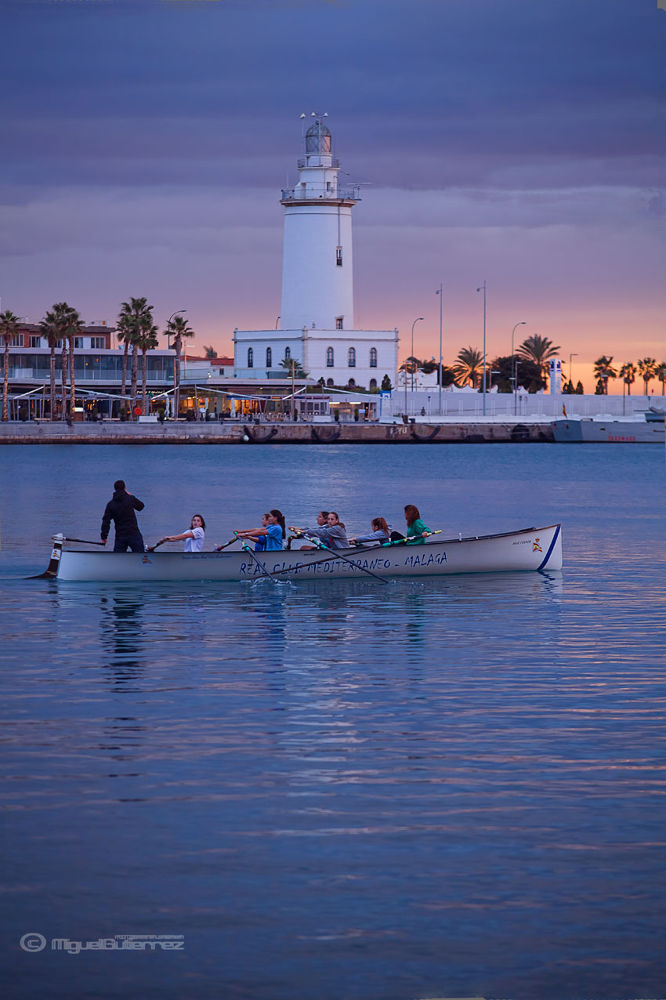 Photo in Sports #regata puerto de malaga