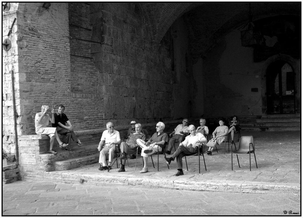 Saint Gimignano by Rossi Dominique