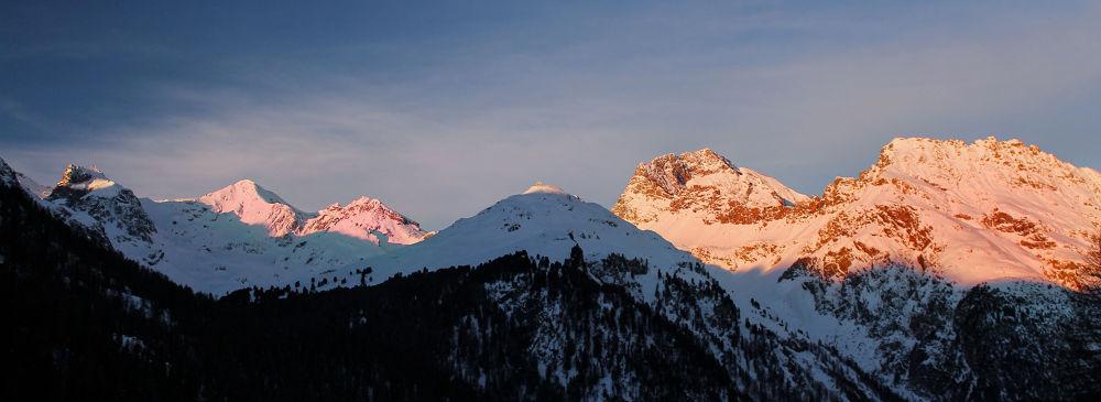 Mountains around Preda by kimalane
