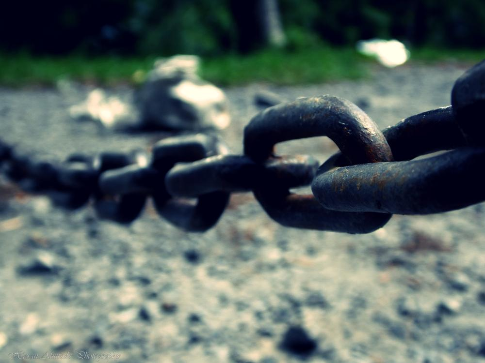 A chain is no stronger than its weakest link, and life is after all a chain by Hasan Ahmad
