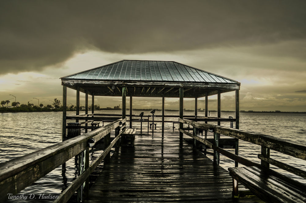 Photo in Landscape #florida #water #pier #color #beautiful