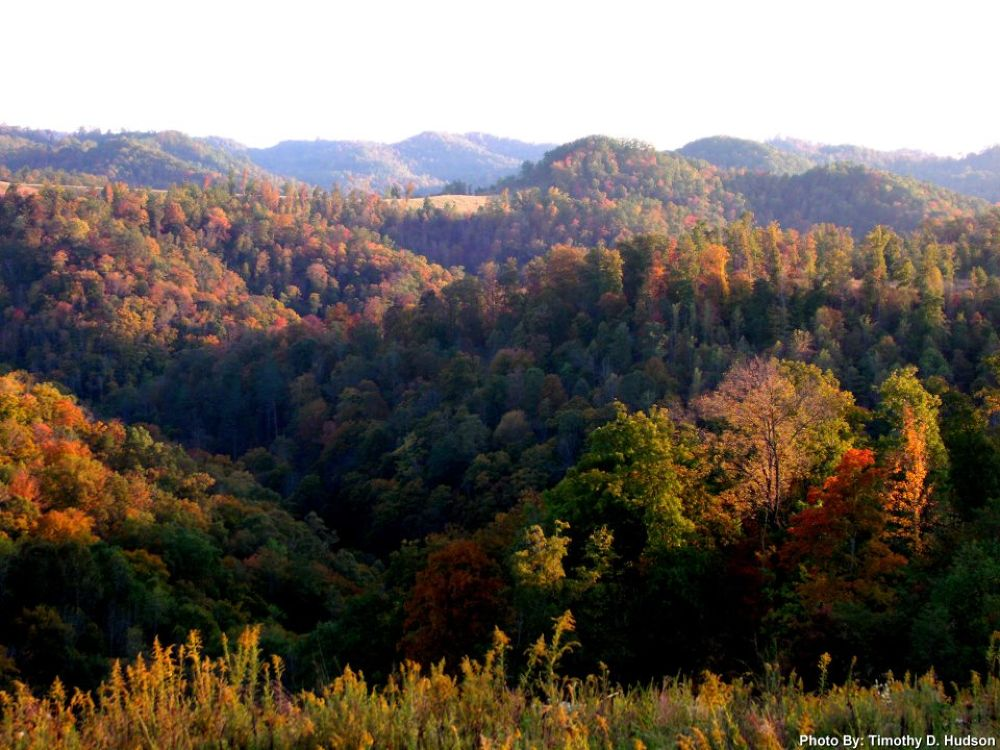 Fall Time In The Mountains by Timothy Hudson