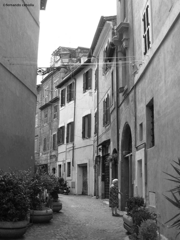 Trastevere, Rome by Polidaschamineras