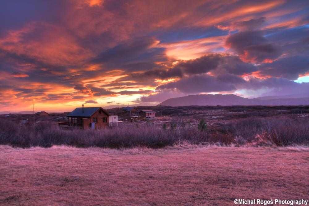 Photo in Random #iceland #sunset #hdr
