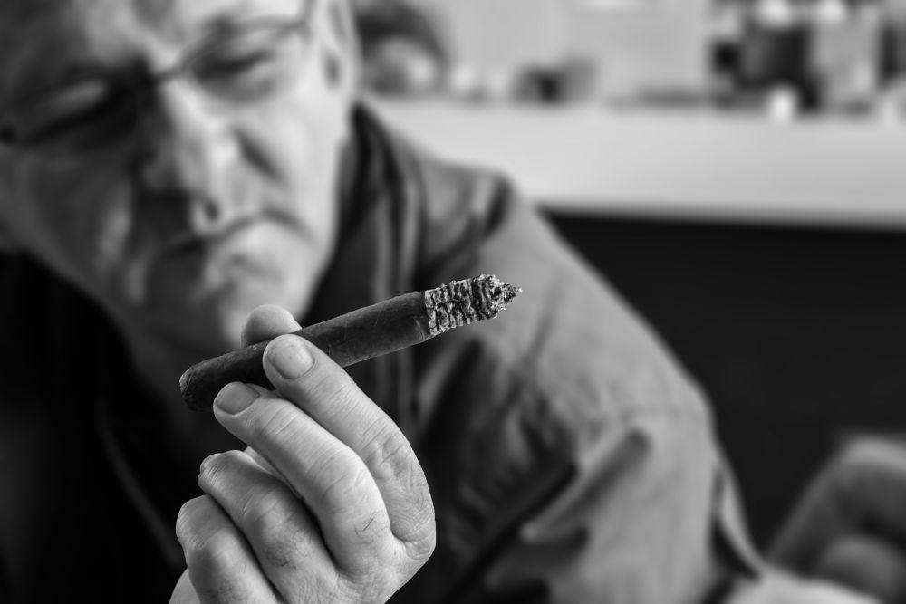 smoker by Hadis Kulovac