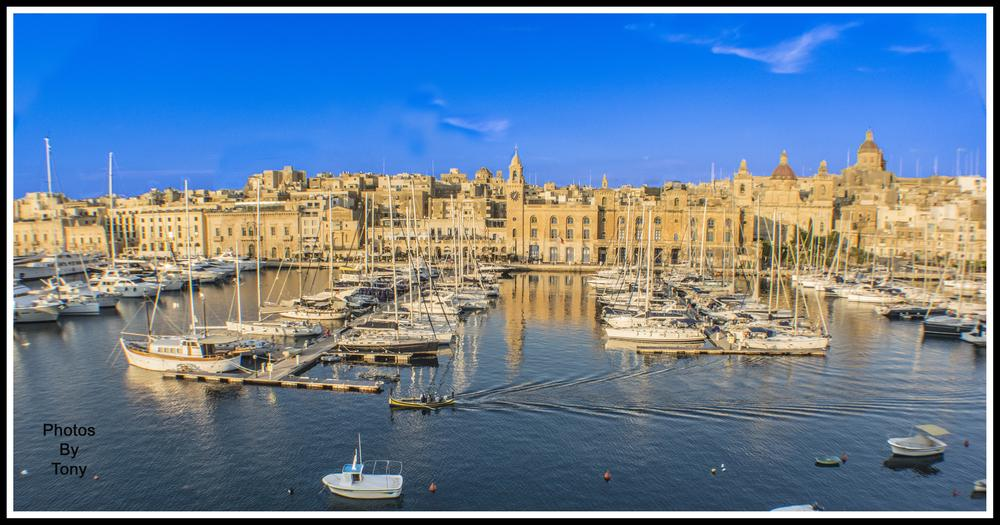 One of the oldest city in Malta, Vittoriosa Waterfront by Anthony Bonnici