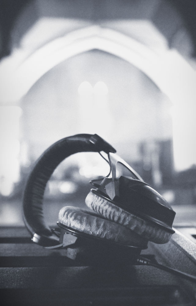 Sound check by Gareth Millar