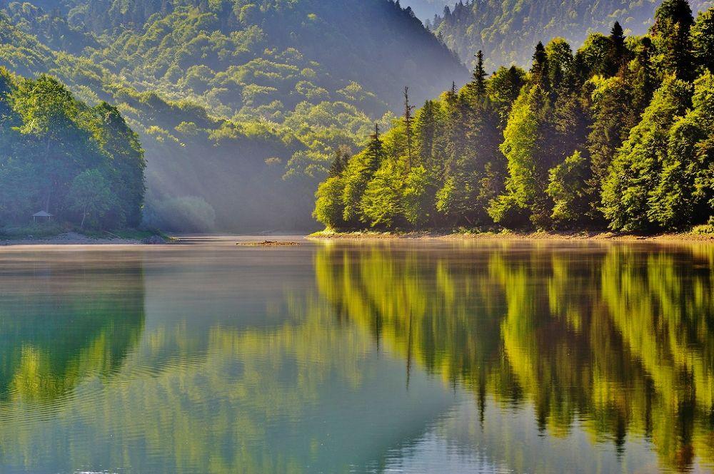 biogradsko jezero by kalimantan