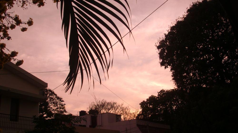 Sun Setting down by Arjun Jayachandran AJ
