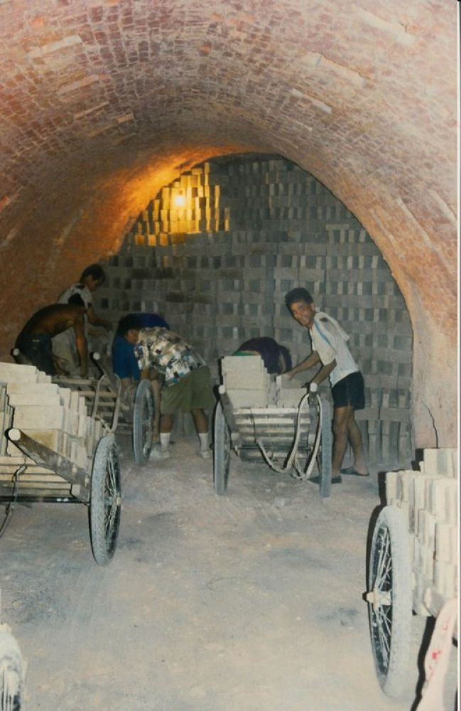 Zhangji_Village_Brickworks_1997-107 by Arie Boevé
